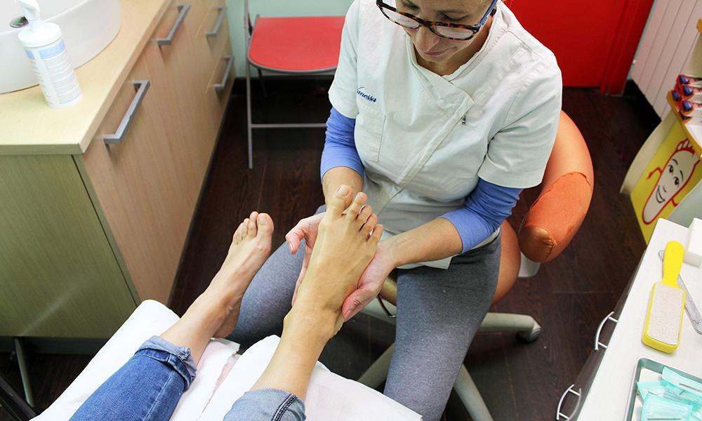 trattamento piedi paraffina